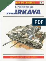 Osprey - Carros de Combate 03 - El Poderoso Merkava