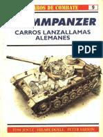 Osprey - Carros de Combate 09 - Flammpanzer Carros Lanzallamas Alemanes
