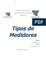 Tipos de Medidores 1