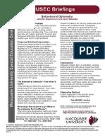 Musec Briefing 33 Behavioural Optometry-1