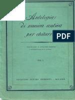 Chiesa - Antologia Di Musica Antica Per Chitarra Vol 1 (Suvini Zerboni 1969)