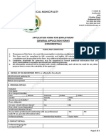 Application Form for Employment (General Applications Only) (2)