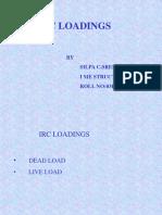 IRC Loading PPt