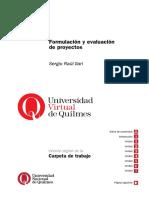 Ilari (2014) Carpeta de Trabajo Formulación de Proyectos