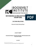 Rethinking Globalization in the Trump Era