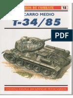 Osprey - Carros de Combate 18 - El Carro Medio T-34/85