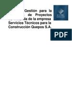 Plan Gestión para la ejecución de  Py de Vivienda.pdf
