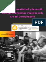 Innovacion Creatividad y Emprendimientos delas industrias culturales y creativas
