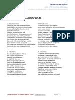 Textos Pierrot Lunaire