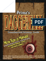 Prima Daggerfall Unofficial Strategy Guide
