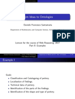 Lecture From Ideas to Ontologies, Examples