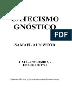 1952 Catecismo Gnóstico o Concienca Cristo Samael Aun Weor