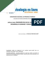 Glosario psicologia del desarrollo