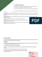 Instrumento y Materiales Para Su Representación Grafica