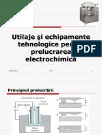 Tehnologice Pentru Prelucrarea Electrochimică