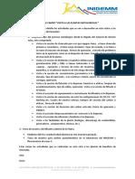 SALIDA de CAMPO Plantas Metalurgicas