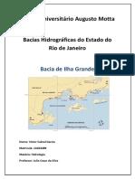 Bacias Hidrográficas - Hidrologia - 02