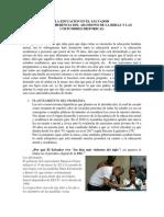 La Educacion en El Salvador