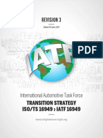 IATF 16949 Transition Strategy and Requirements REV03