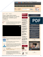 Waze_ Lima Tiene Mejor Seguridad Vial Pero Es Una de Las Peores Ciudades Para Conducir