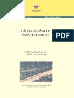 Calculos basicos para fertirrigar.pdf