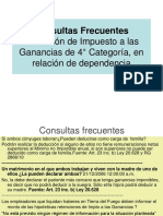 Consultas Frecuentes 4° Categoria.ppt