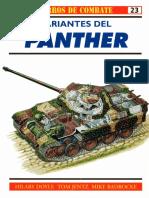 Osprey - Carros de Combate 23 - Variantes Del Panther