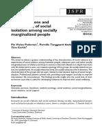 soc isol marginalized people