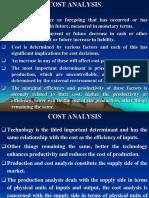 Economics- Cost Sr
