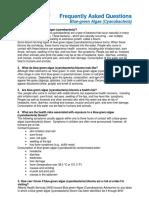 FAQ Blue-green Algae (Cyanobacteria)
