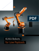 Kuka Robotics Low Payloads