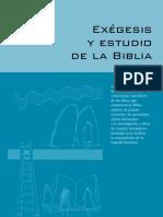 Exégesis y Estudio de La Biblia