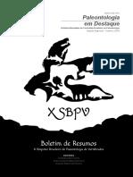 XSBPV Boletim de Resumos