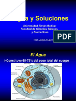 Agua y Soluciones Prof. Jorge Leyva