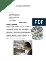 Agua Residual y Tratamiento