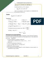 Semana 13_ecuaciones Logarítmicas