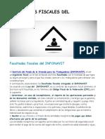 Facultades Fiscales Del Infonavit