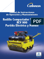Manual Rodillo RVC 900