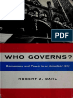 Dahl, Robert a. - Who Governs (1961)