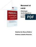 rezumat psihologia marketingului