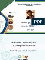 Bonos de Carbono Para América Latina