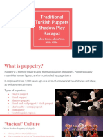 drama - what is a puppet-