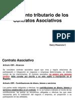16.09.27 Inplicancias Tributarias Contratos Asociativos Consorcio Asociacion Participacion