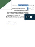 Calculo NR Raices Reales Polinomios