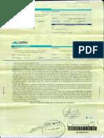 Carta documento de ATE