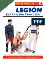Osprey - Carros de Combate 33 - La Legion Extranjera Francesa