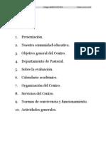 Proyecto educativo primaria 07 08