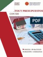 Brochure Costos y Presupuesto Con s10
