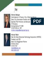 Saratoga Springs Smart City Roadmap Clean Communities Presentation
