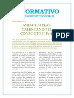Informativo Conflictos Sociales 2